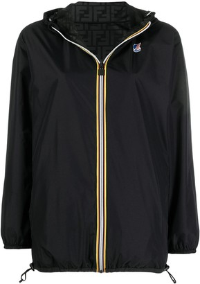 Fendi x K-Way reversible windbreaker jacket