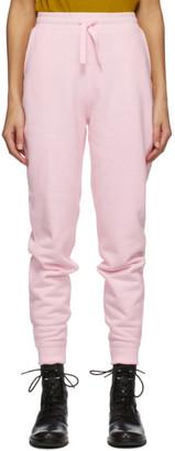 Rag & Bone Pink Fleece Lounge Pants