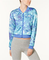 adidas Elements Printed Cropped Track Jacket