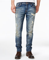 William Rast Men's Slim-Fit Distressed Hollywood Jeans