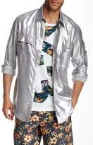 Y-3 Long Sleeve Silver Shirt