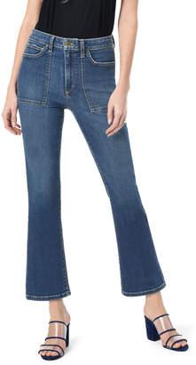 Joe's Jeans The Callie High-Rise Boot-Cut Jeans w/ Utility Pockets