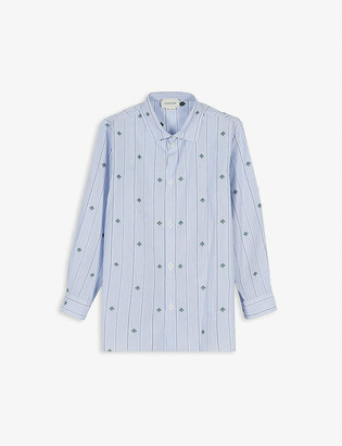 Gucci Striped bee cotton shirt 4-12 years