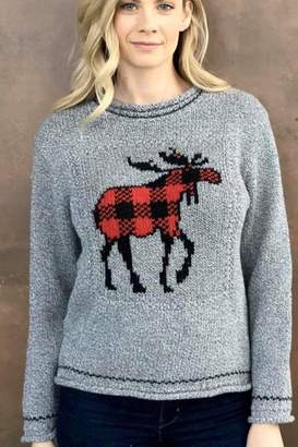 Cotton Country Canadian Moose Sweater