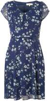 **Billie & Blossom Blue Spring Floral Dress