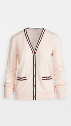 Tory Burch Color Block Madeline Cardigan