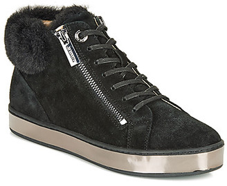 JB Martin IMPI women's Shoes (High-top Trainers) in Black