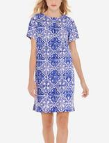 The Limited Tile Print Shift Dress