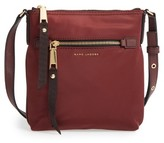 Marc Jacobs Trooper Nylon Crossbody Bag - Burgundy