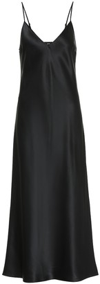 Joseph Clea silk-satin slip dress