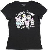 Tokidoki Sweet Cakes Womens Black T-Shirt (Medium)