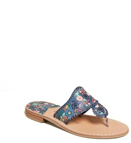 Jack Rogers Jacks Icon Floral Flat Sandals