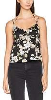 Juicy Couture Women's Sw Route 1 Bloom Cami Vest Top