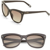 Fossil 55mm Cat's Eye Sunglasses