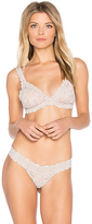 Hanky Panky Cross-Dyed Signature Lace Padded Bralette