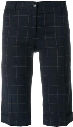 Dolce & Gabbana Pre-Owned Windowpane Check Shorts