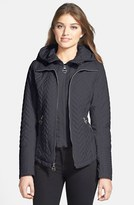 Laundry by Shelli Segal Quilted Jacket with Removable Hooded Vestie