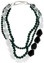 Ippolita Onyx, Quartz & Malachite Bead Necklace