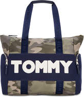 Tommy Hilfiger Nylon Sporty Camo Extra-Large Tote