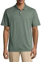 Haggar Short Sleeve Poly Polo Shirt