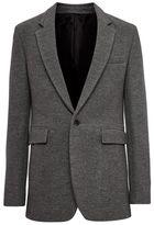 Topman DESIGN Grey Wool Blazer