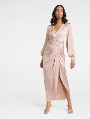 Ever New Ezra Satin Jewel Maxi Dress