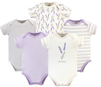 Touched by Nature Organic Bodysuits, 5pk (Baby Girls)