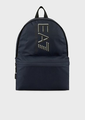 Ea7 Sporty Visibility Backpack With Logo