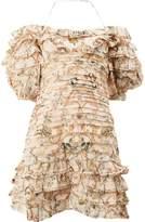 Zimmermann floral bandage dress