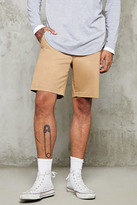 Forever 21 FOREVER 21+ Cotton-Blend Chino Shorts