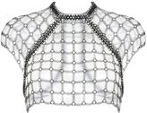 Fannie Schiavoni Chainmail Crop Top