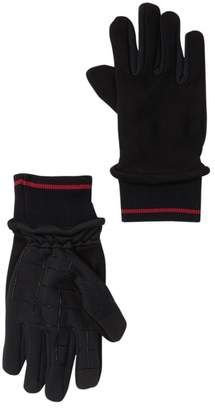 Levi's Jersey Fleece Mixed Media Gloves