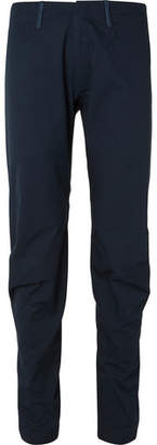 Arc'teryx Veilance Navy Voronoi Tapered Cotton-Blend Trousers
