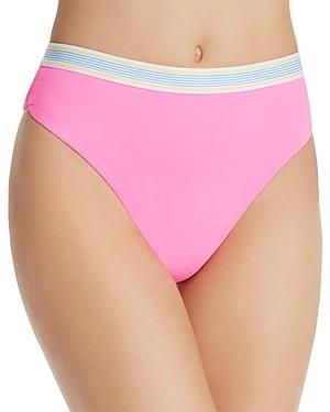 Dolce Vita Fast Lane High-Waist Bikini Bottom