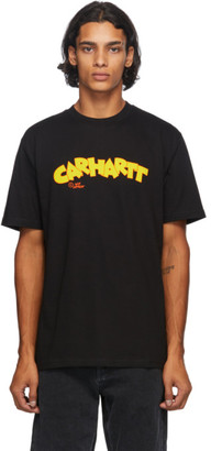 Carhartt Work In Progress Black Loony Script T-Shirt