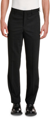 Neil Barrett Men's Relaxed Side-Stripe Tuxedo Pants