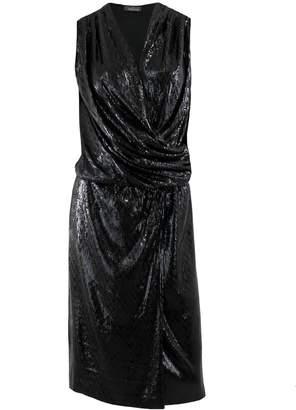 Me&Thee Close Quarters Black Sequin Dress