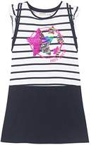 Desigual Girl's Vest_Túnez Dress,(Manufacturer Size: 7/8)
