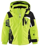 Spyder Green Mini Quest Challenger Ski Jacket