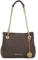 MICHAEL Michael Kors Jet Set Chain-Handle Signature Cross-Body Messenger Bag