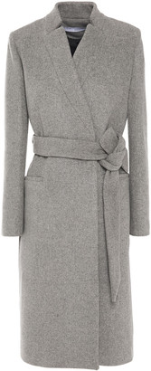 IRO Walker Belted Wool And Cashmere-blend Felt Coat