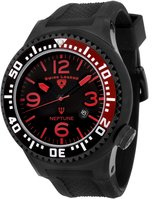 Swiss Legend Men's 21818P-BB-01-RB Neptune Collection Ion-Plated Rubber Watch