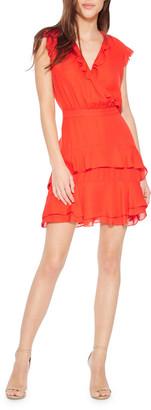 Parker Tangia V-Neck Sleeveless Ruffle Dress