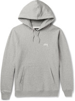 Stüssy - Fleece-back Cotton-jersey Hoodie