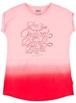 Levi's Pink Dip Dyed Logo Dress