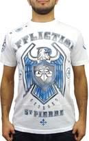 Affliction George St Pierre GSP Royal Guard UFC 167 Walk Out T-Shirt XXL