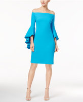Vince Camuto Off-The-Shoulder Dress