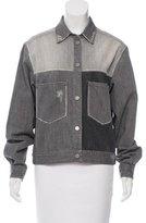 Etoile Isabel Marant Colorblock Denim Jacket