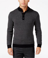 Tasso Elba Men's Four-Button Sweater, Only at Macy's