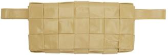 Bottega Veneta Beige Paper Calf Crossbody Bag